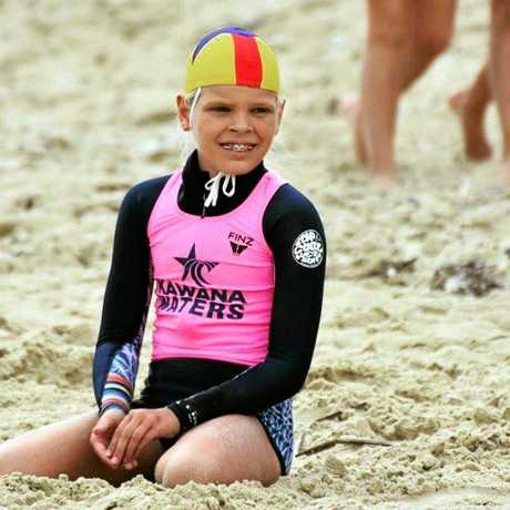 Summer Latimer in her nippers gear.