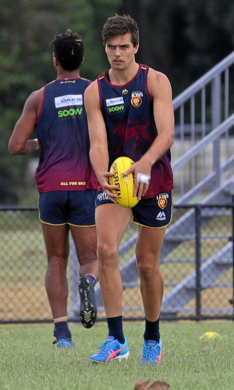 Brisbane Lions key forward Toby Wooller.