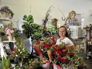 Florist prepares for busy Valentine's Day