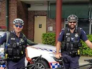 ON YA BIKE: Police roll on to patrol