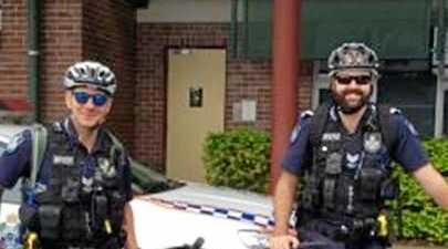 Bundaberg police have started patrolling on bicycles.