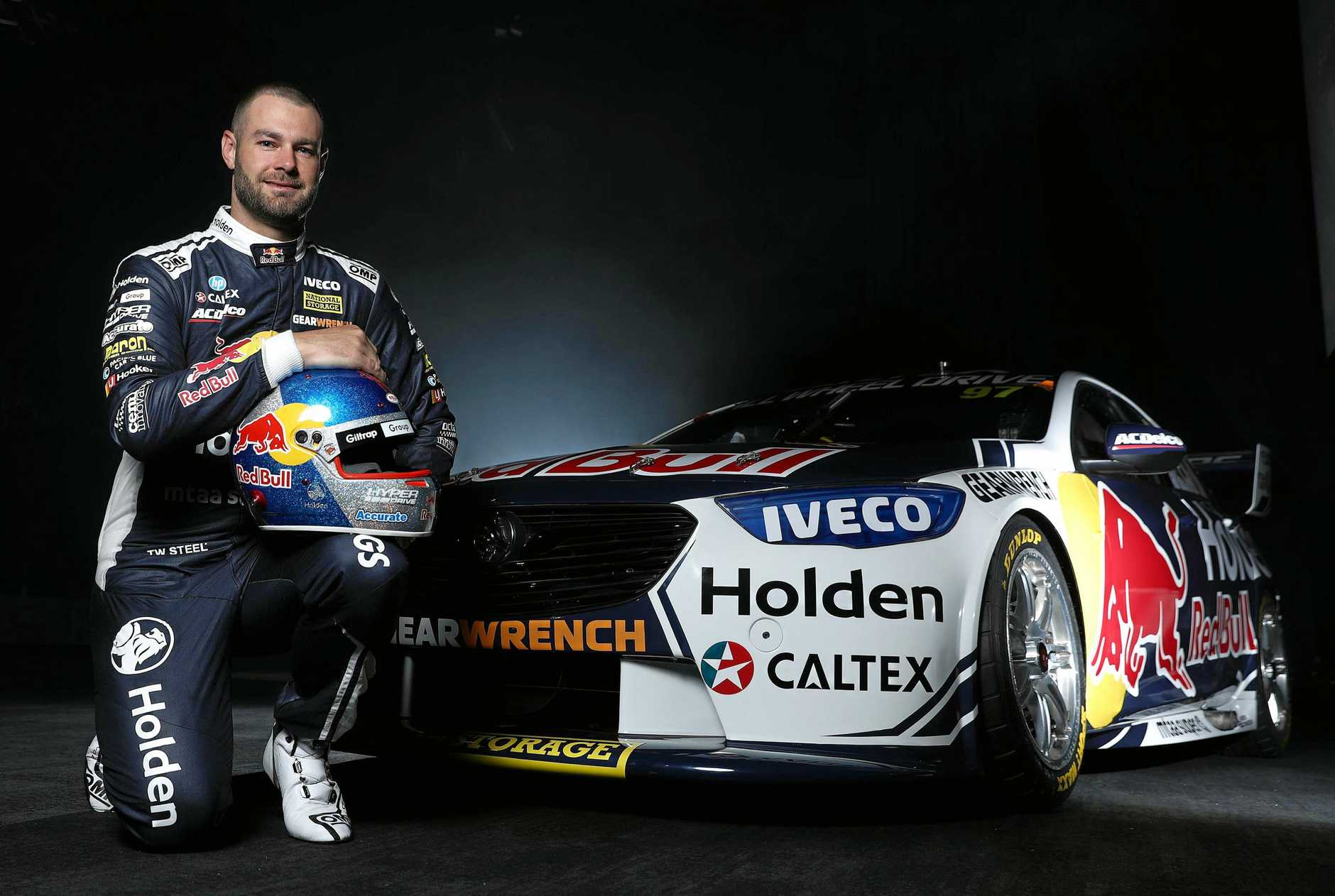 Shane van Gisbergen with the new Red Bull Racing Team Holden. (Photo by Robert Cianflone/Getty Images)