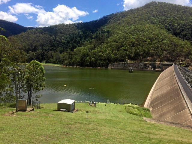 Borumba Dam.