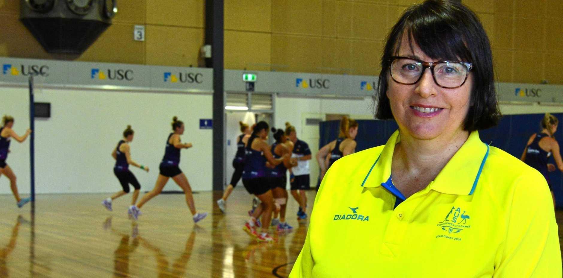LEADER: Australian netball coach Lisa Alexander