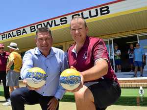 Dozens drawn to training session led by bowling royalty