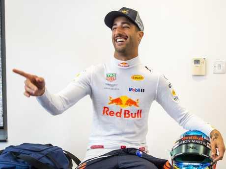 Ricciardo's happy days at Red Bull are over.