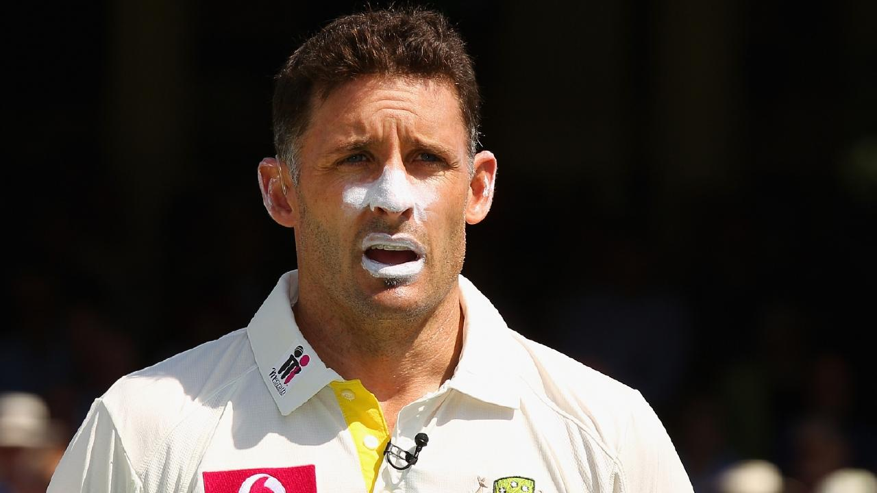 Michael Hussey had one very powerful supporter.