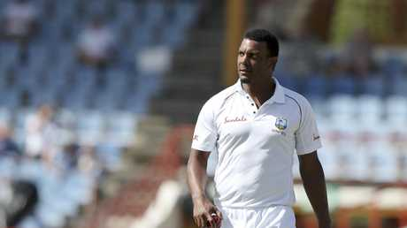 West Indies' Shannon Gabriel has been charged by the ICC over the insult. Picture: AP
