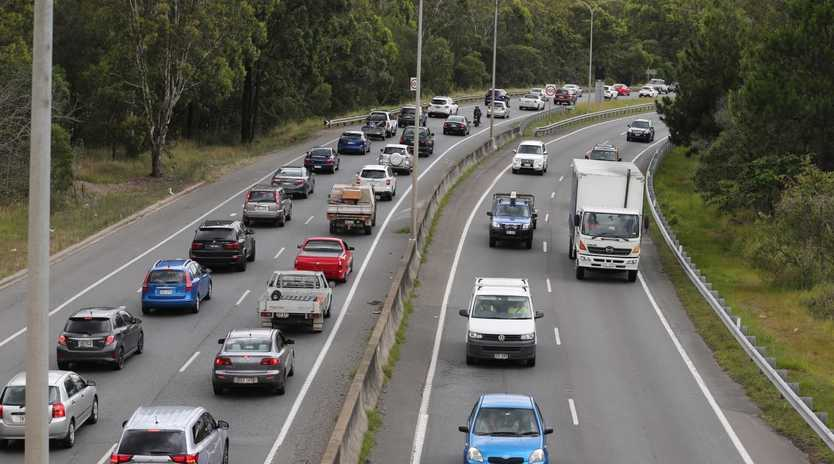 Traffic delays on the Gateway Mwy. Picture: File photo