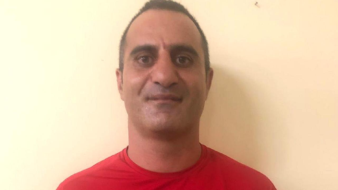 Sydney man Bilal Kalache, 43, who has been arrested in Bali, accused of stealing a $1250 Gucci bag from a duty free store in Kuta. Kalache is now in Bali's Kerobokan prison awaiting a trial date on one charge of theft. Picture: Cindy Wockner