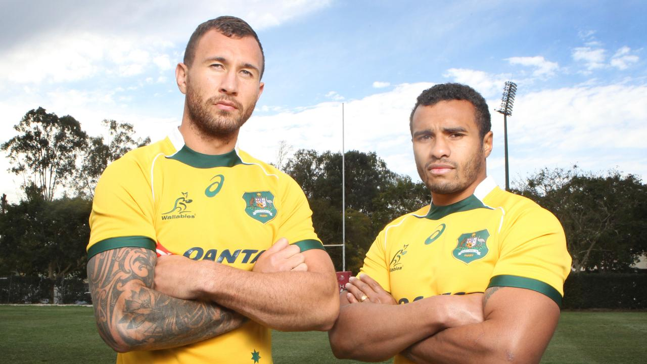 Quade Cooper and Will Genia have again unite to create an impressive attack unit.