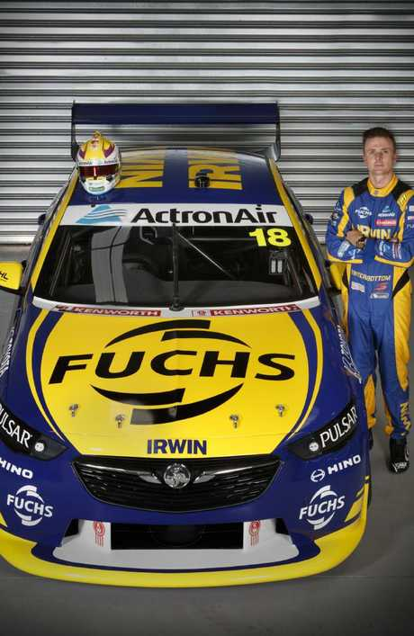 Mark Winterbottom with his new No.18 Commodore.