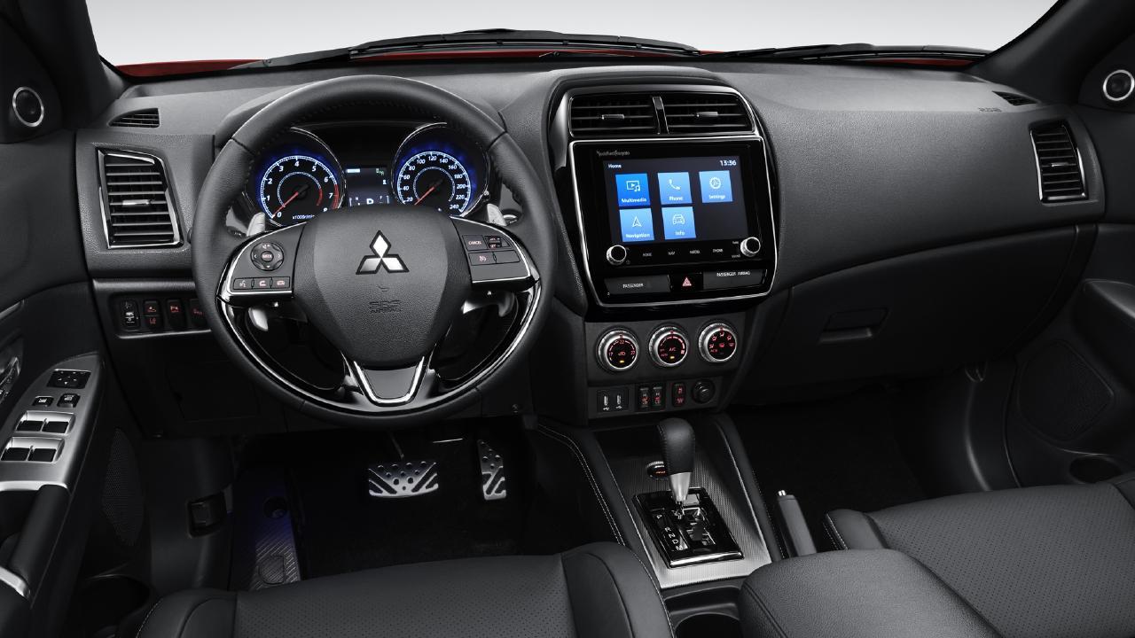 The ASX's interior has been overhauled.
