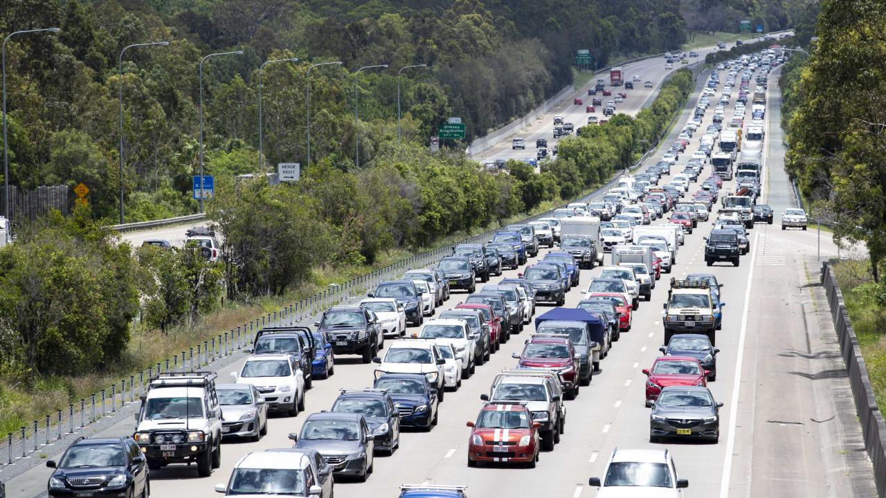 The M1 is one of the busiest roads in Australia. Picture: Tim Marsden