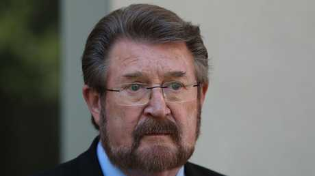 Senator Derryn Hinch backed the legislation when it went through the Senate in December. Picture: Kym Smith