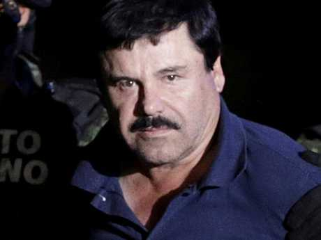 Joaquin 'El Chapo' Guzman has been found guilty on all counts after smuggling 200 tons of cocaine into the United States through his Mexican cartel. Picture: Reuters/Henry Romero