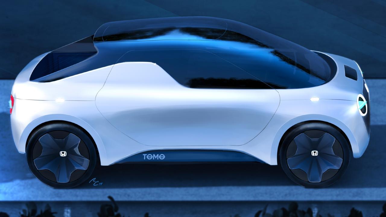 2019 Honda Tomo concept.
