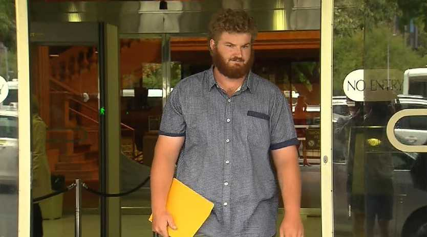 David Bristow gave evidence in the District court in relation to his father, Gene Charles Bristow. Picture: 9News