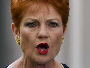 Hanson accuses senator of sexual harassment