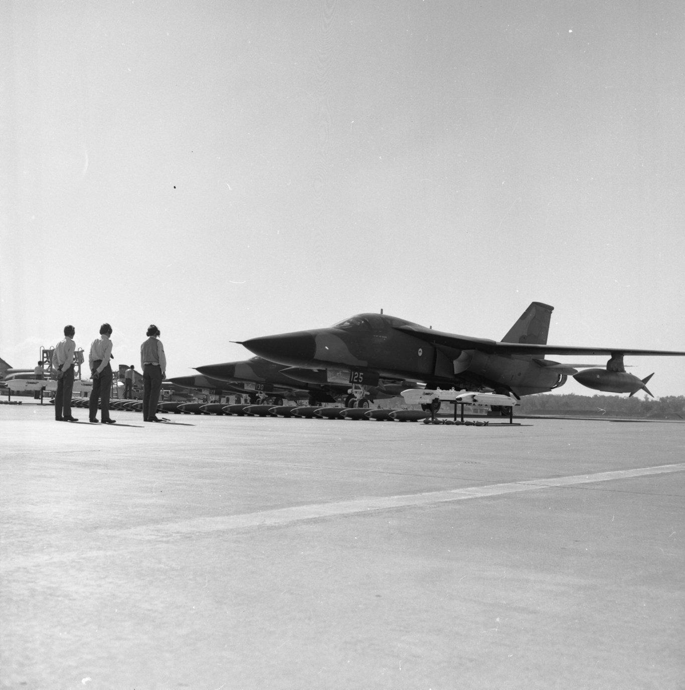 RAAF Amberley F-111s.
