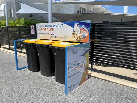 Gladstone Airport Corporation is helping the environment and the Royal Flying Doctor Service with a Container Exchange program at Gladstone Airport.