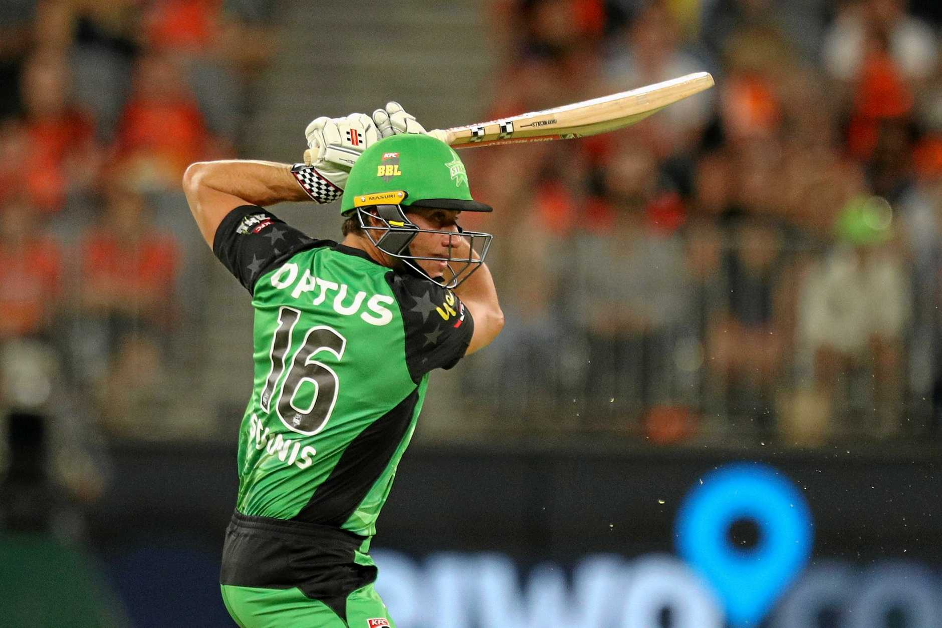 Marcus Stoinis has been in outstanding form for the Stars during the Big Bash League.