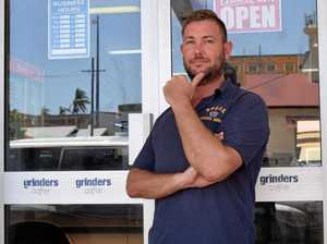 New cafe owner makes a royal introduction