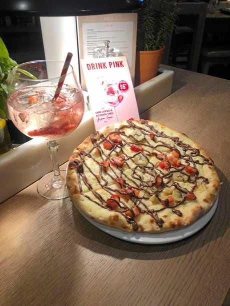 Vapiano's Drink Pink Wednesday Nights.