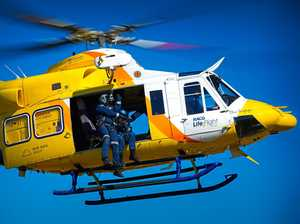 Man airlifted after Millmerran rollover