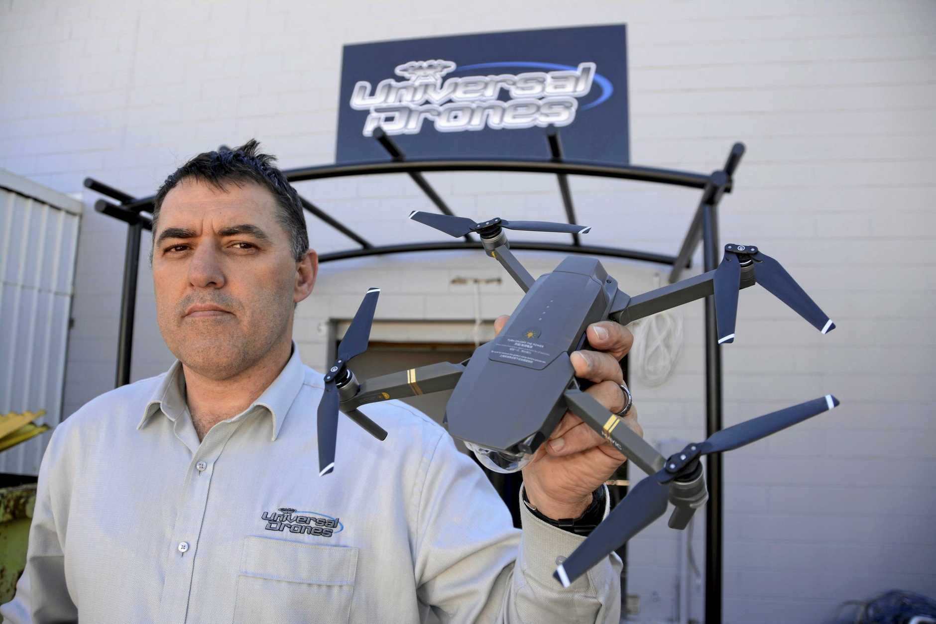 TOUGH TIMES: Gary King's venture Universal Drones has gone into voluntary administration.