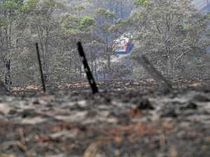 Almost 350 properties lose power during bushfire