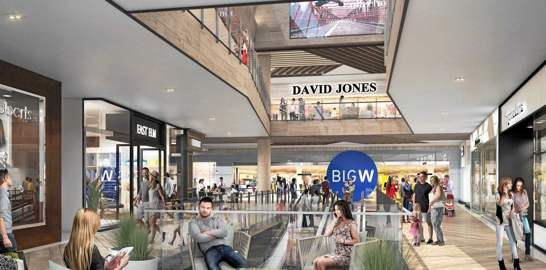 SHOPPING HEAVEN: The final stage of the Sunshine Plaza's $440 million redevelopment will open on March 28.