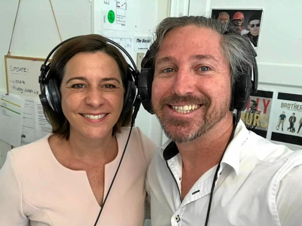 LIFE ADVICE: LNP leader, Deb Frecklington joined Matt in the studio for a live Coffee Chats interview.