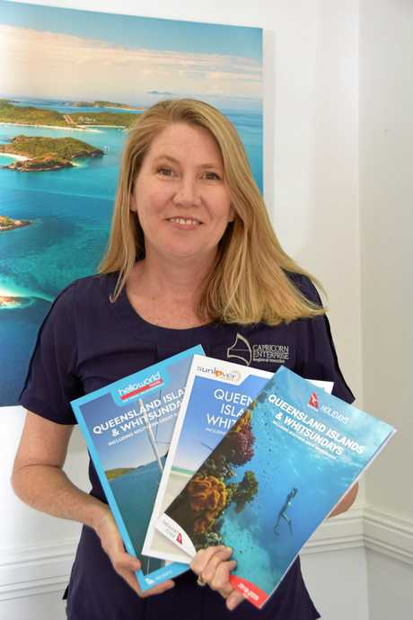 PUBLICITY COUNTS: Mary Carroll said she is over the moon to see the results of nine years of hard work pay off with promotion in leading tourism publications.