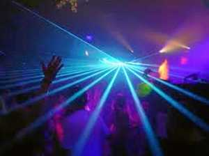 Blue Light Disco for students of all ages