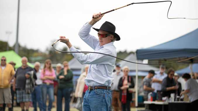 CRACKING GOOD NEWS: The NCMC Casino Beef Week festival is set to host the 2019 AWPA NSW Whipcracking Championships finds a new home at NCMC Casino Beef Week. Pictured is current Australian and world whip-cracking champion Daniel Wicks.