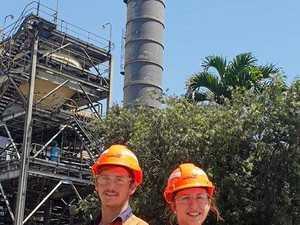 Sugar mill apprentices crushing it