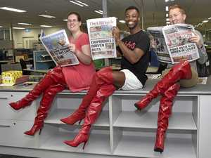 The Chronicle learns how to walk in Kinky Boots
