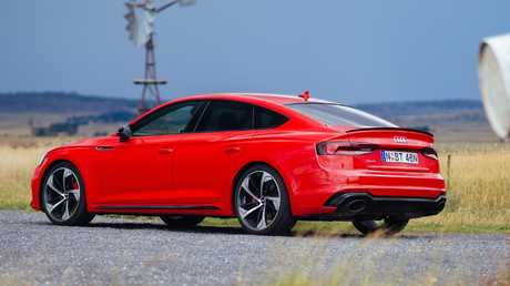 The RS5 Sportback is super quick, sprinting form zero to 100km.h in 3.9 seconds..