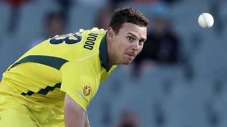 Josh Hazlewood is under pressure. Picture SARAH REED