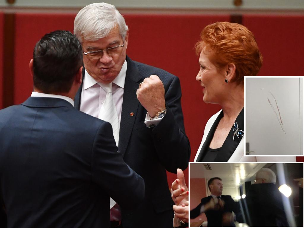 "Quote of the week: ""I wouldn't go near him with a barge pole,"" Queensland Senator Pauline Hanson dusts off a classic while trading barbs over sexual harassment claims with her former friend Brian Burston."