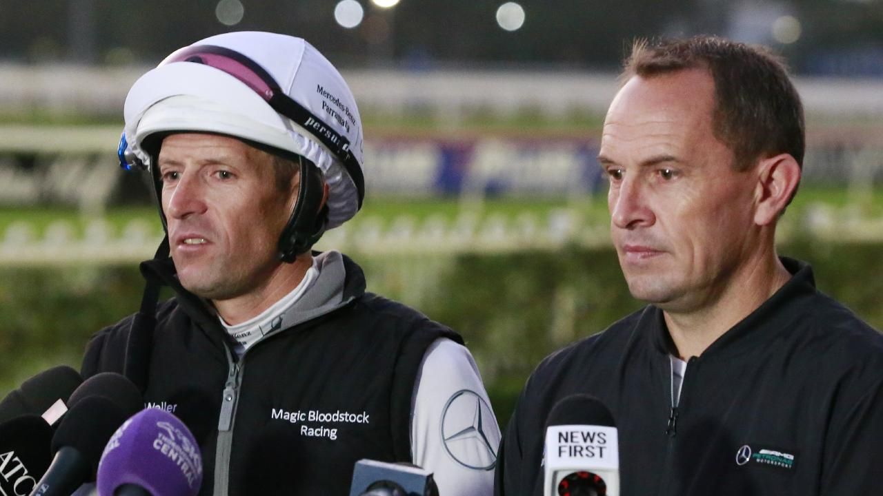 Hugh Bowman and Chris Waller say the mare is looking good ahead of her race return.