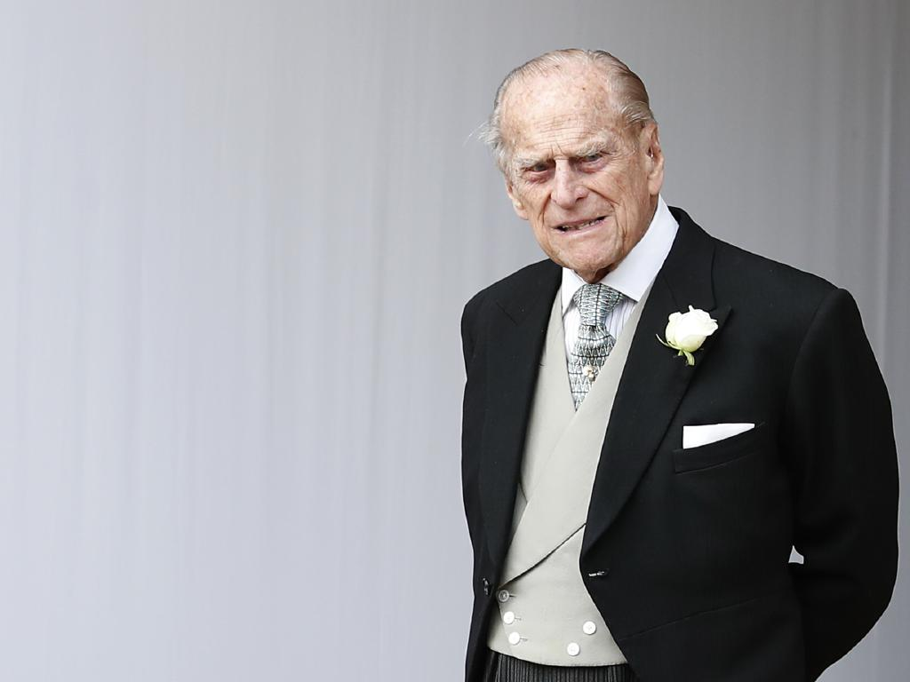 Britain's Prince Philip will face no further action over a car accident last month. Picture: AP