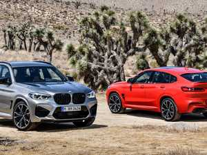Get to the supermarket, fast! BMW's fire-breathing SUV pair
