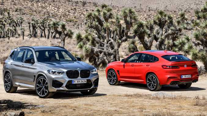 2019 BMW X3 M and BMW X4 M