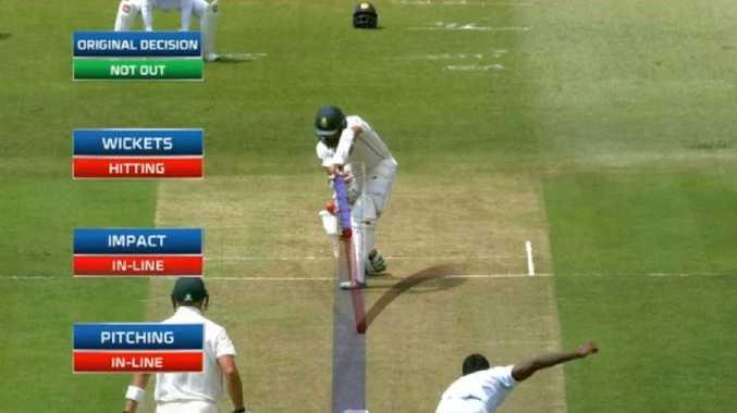 Hashim Amla owes umpire Aleem Dar a favour.