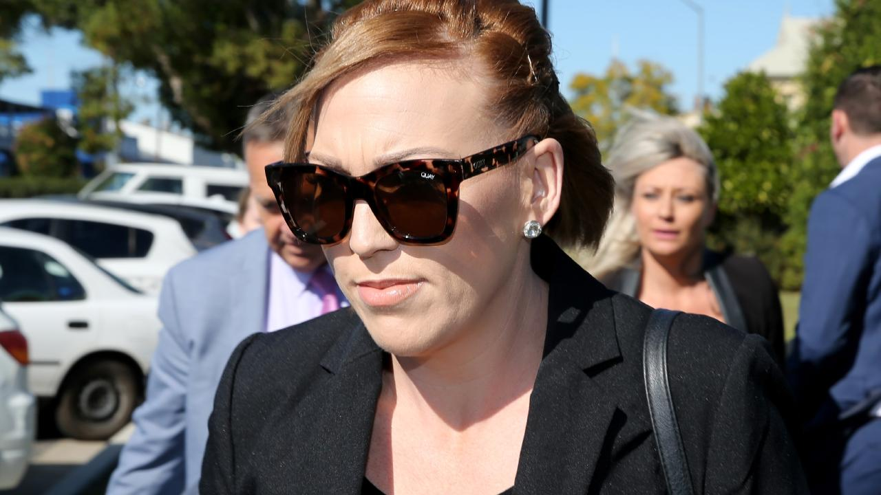 Amy Connors allegedly had sex with convicted cop killer Sione Penisini. Picture: Nathan Edwards