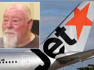 Disabled man 'gutted' over Jetstar weight drama