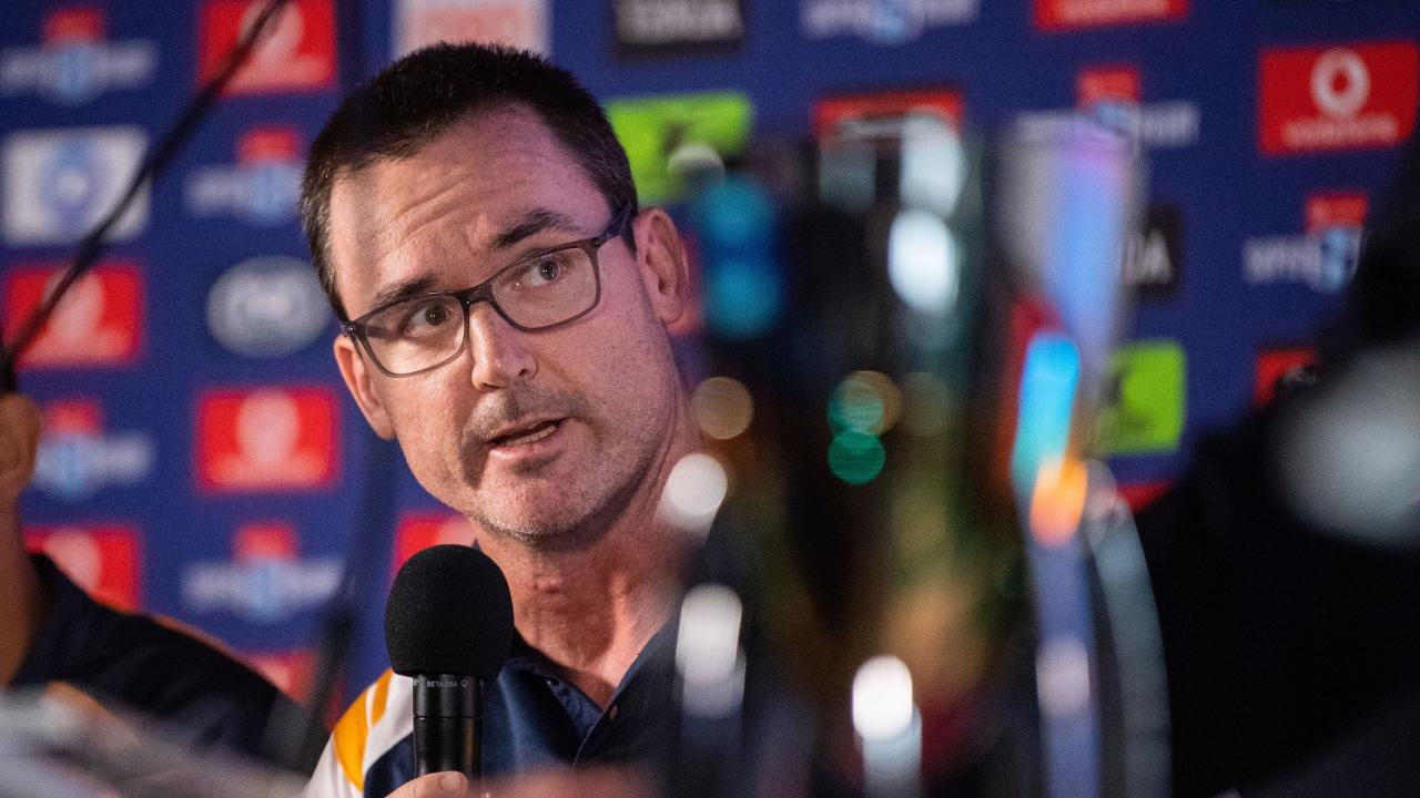 The Brumbies have extended coach Dan McKellar's contract on the eve of the 2019 Super Rugby season. Pic: Stuart Walmsley/Rugby AU Media