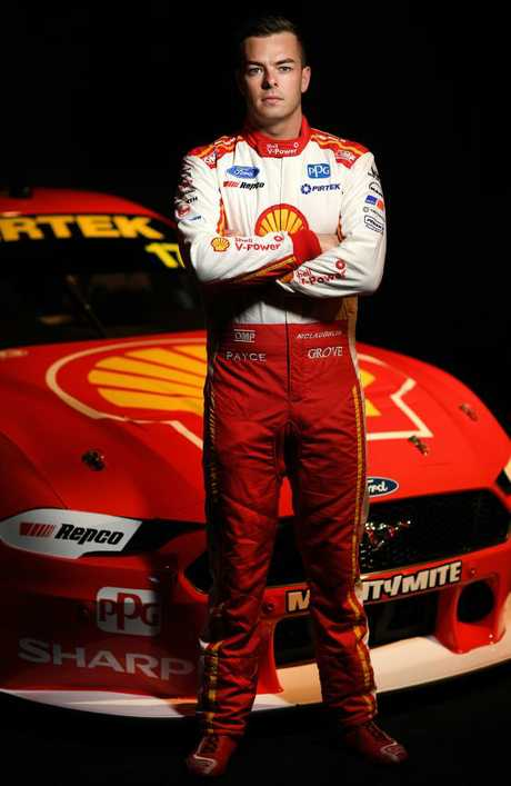 Scott McLaughlin was happy with his first drive around Phillip Island in the Mustang.